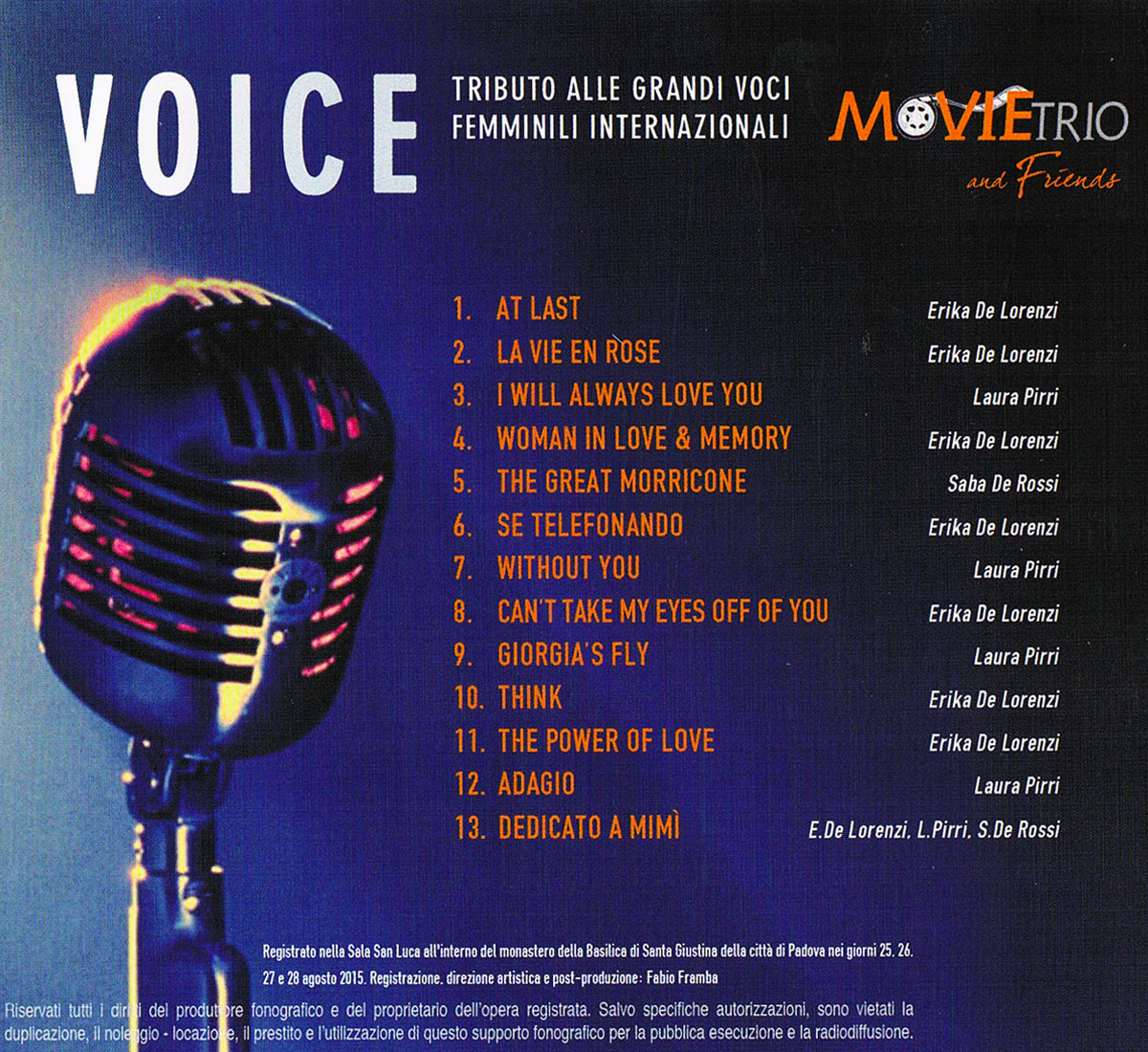 cd voice retro
