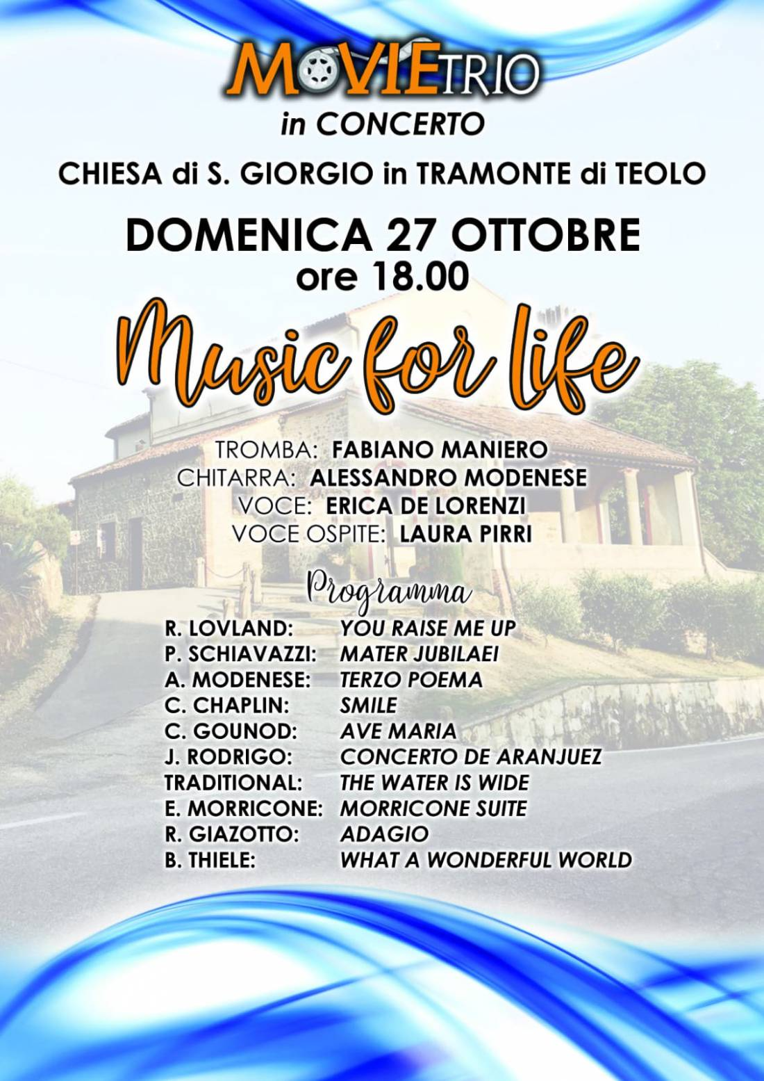 MOVIETRIO IN CONCERTO 'MUSIC FOR LIFE'